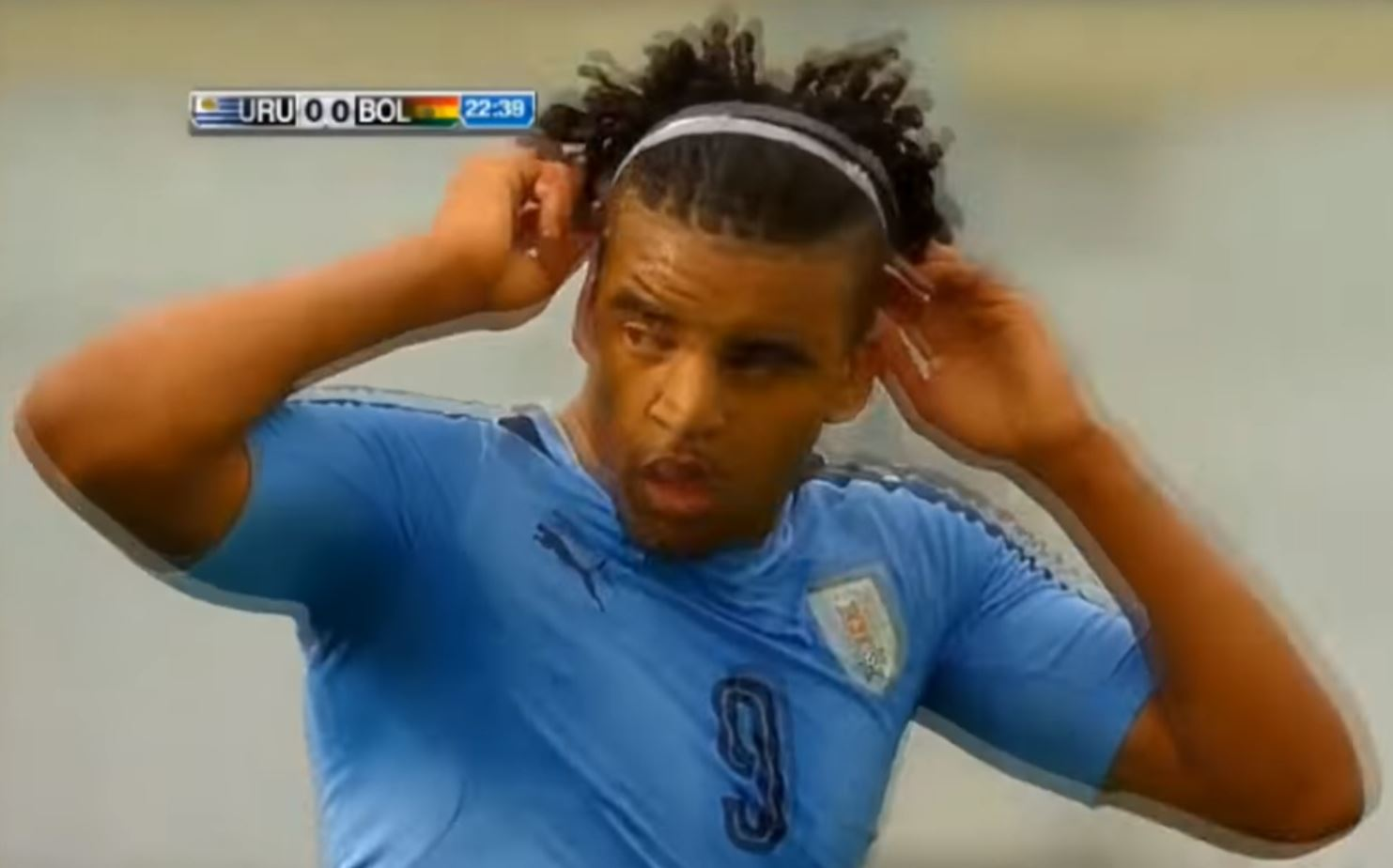 Viera has recently broken into the Liverpool FC Montevideo first team and plays for Uruguay u17s (Picture: TMG/YouTube)