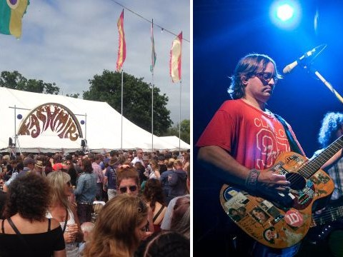 'We feel bad!' Wheatus apologise as Isle Of Wight festival goers miss out on gig because it's too crowded