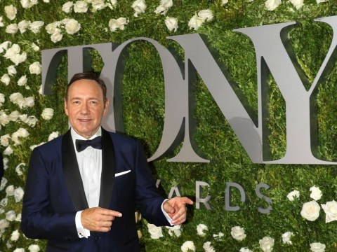 Kevin Spacey pokes fun about 'coming out' in hilarious skit at the 2017 Tony Awards