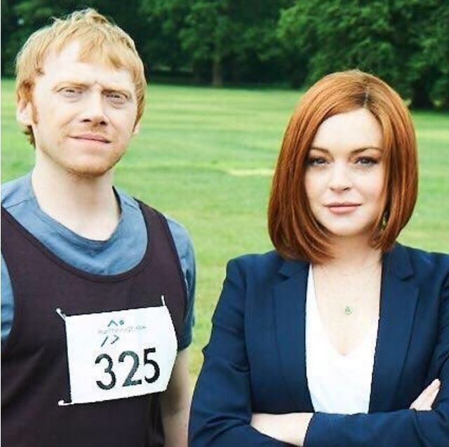 Lindsay Lohan unveils a brand new look, returns to acting in British comedy Sick Note