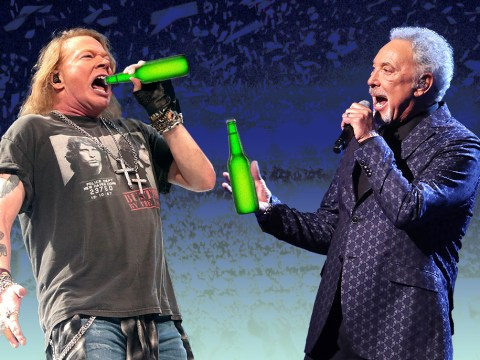 Sir Tom Jones and Guns N' Roses' Axl Rose party until 6am until officials shut it down following noise complaints