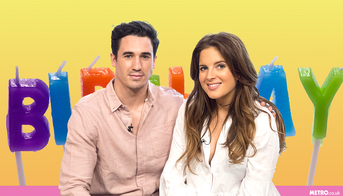 Binky Felstead celebrates her 27th birthday by returning home with her and Josh Patterson's new baby girl