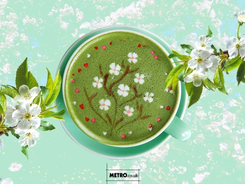 Beautiful floral latte art is all the rage in Singapore