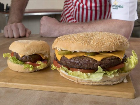 Morrisons are selling the UK's biggest supermarket burger just in time for Father's Day