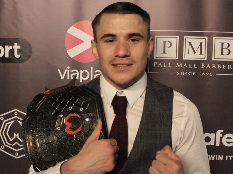 Nathaniel Wood fulfils a dream and takes home historic gold at Cage Warriors 84