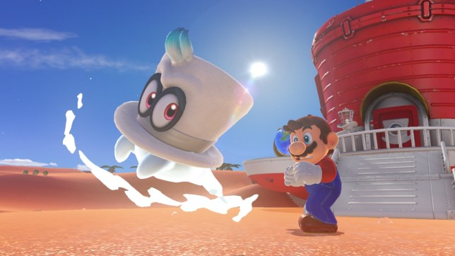 Super Mario Odyssey - hats off to the makers of Mario