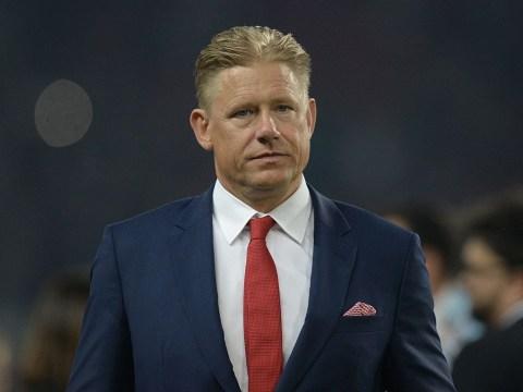 Peter Schmeichel urges Manchester United to sign son Kasper Schmeichel as David De Gea's replacement