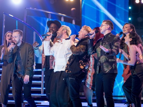 Pitch Battle: Leeds Contemporary Singers joined by Will Young mid-song as they go through to the final