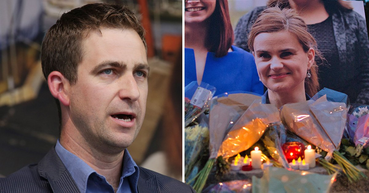 Jo Cox's death was 'like grenade going off inside me' says husband one year after murder