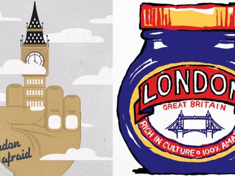 Powerful cartoons show defiant response to the London Terror attack