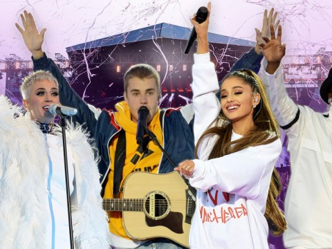 'Love conquers hate': Stars pay heart-felt tribute to victims of Manchester attack at One Love Manchester