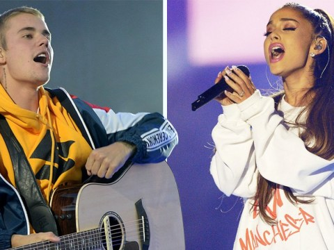 Ariana Grande's Manchester tribute single One Last Time challenges Justin Bieber's Despacito to number one spot
