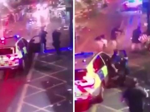 CCTV shows moment London Bridge attackers were gunned down