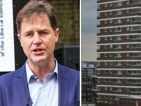 Tories did not build new social housing over fears it would 'create Labour voters' says Nick Clegg