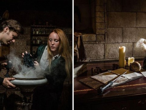 There's a Harry Potter themed escape room to have a magical adventure in