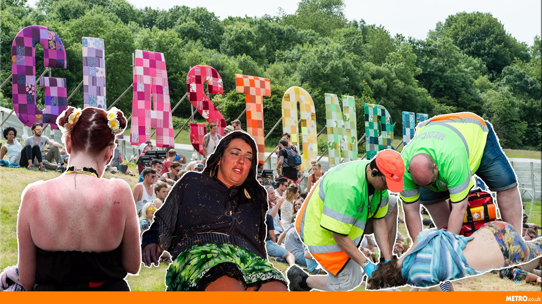 'I watched a guy who thought he was a slug': A Glastonbury Festival paramedic reveals all