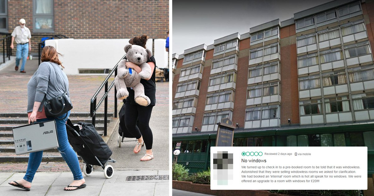 Tower block evacuees put up in hotel where 'rooms with windows cost £20 extra'