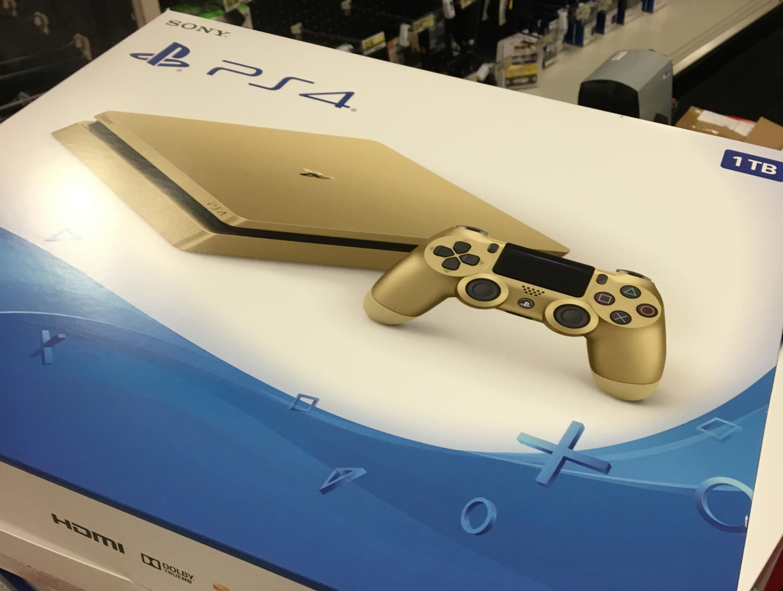 Is Sony planning to release a gold PlayStation 4?