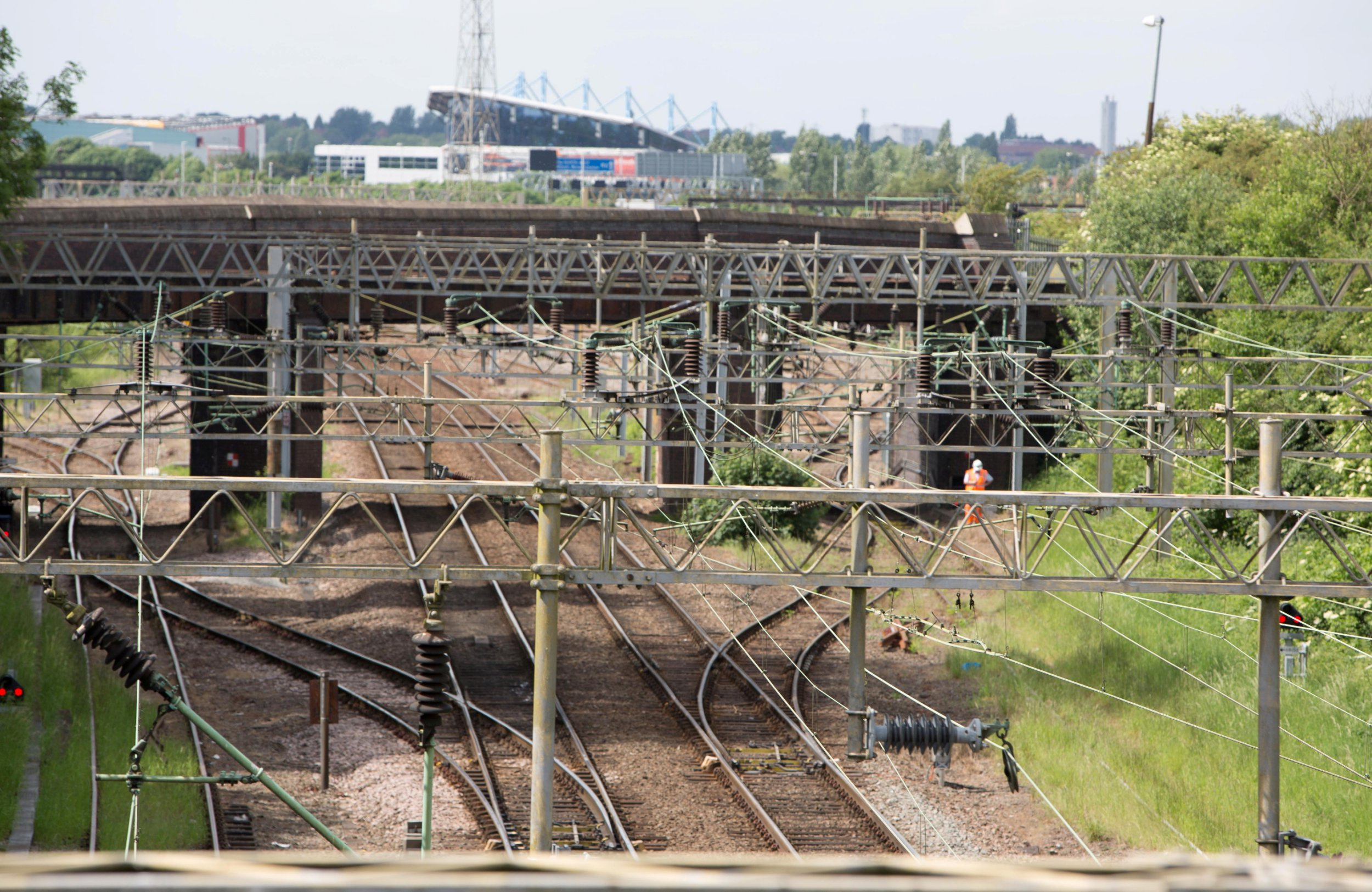 Two boys fighting for life after they were electrocuted on a railway line