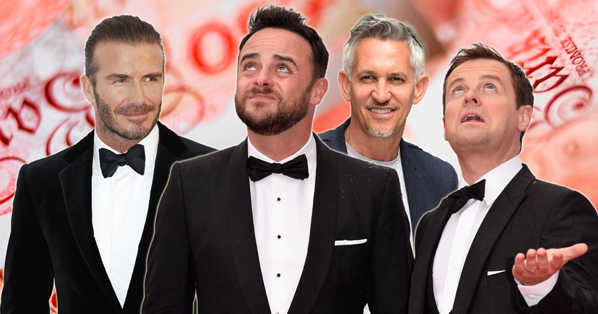 Celebrities ordered to pay £700,000,000 tax bill over dodgy schemes