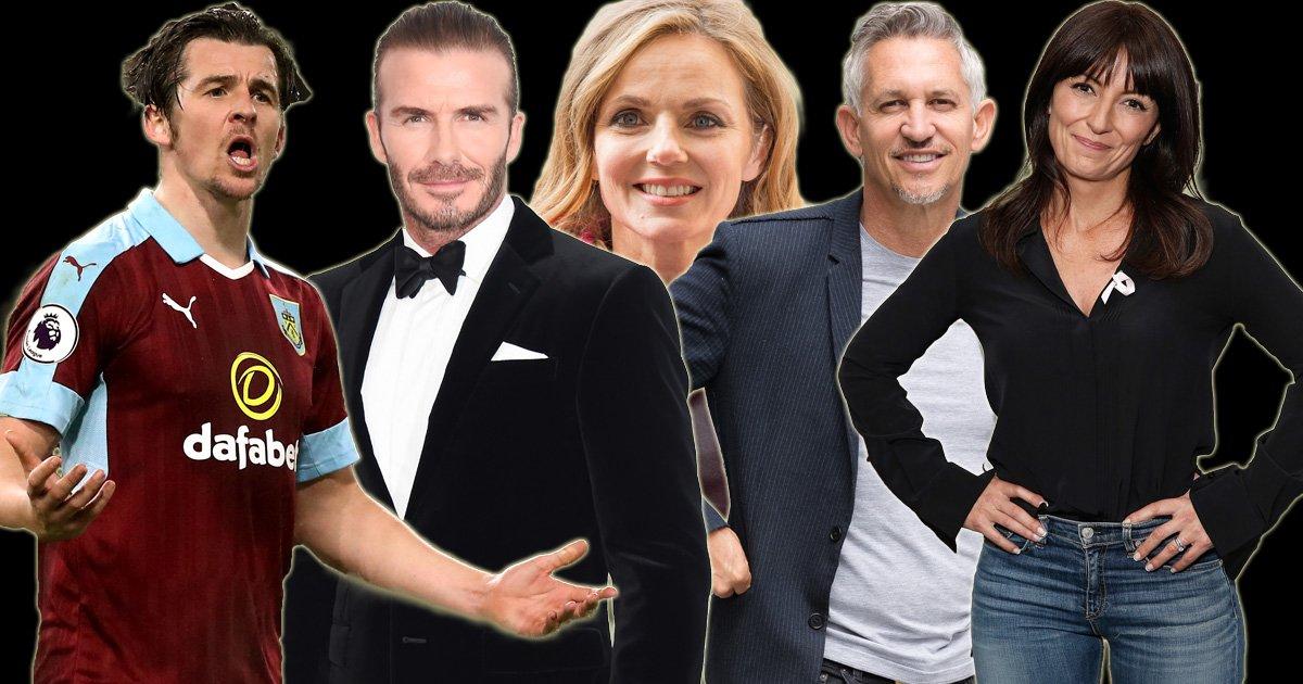 List of 100 celebrities caught in £700 million tax relief scheme revealed