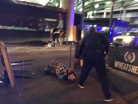 Witness describes moment London Bridge attackers were shot dead metres in front of him