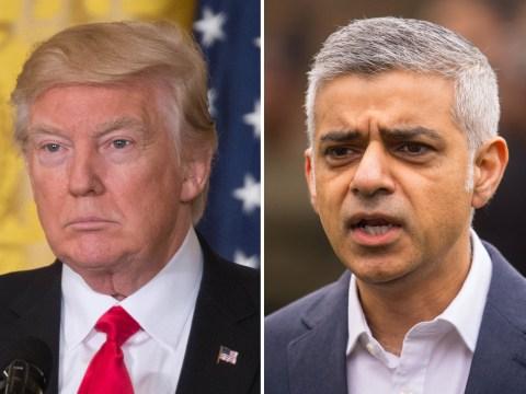 Donald Trump savaged Sadiq Khan on Twitter over his London Bridge attack message
