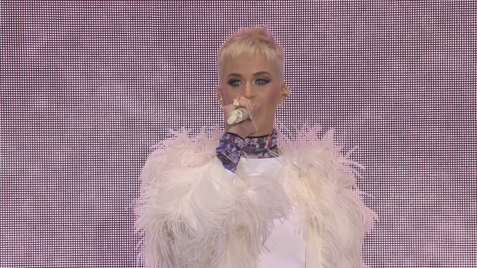 Katy Perry tells One Love Manchester 'love conquers fear and love conquers hate'