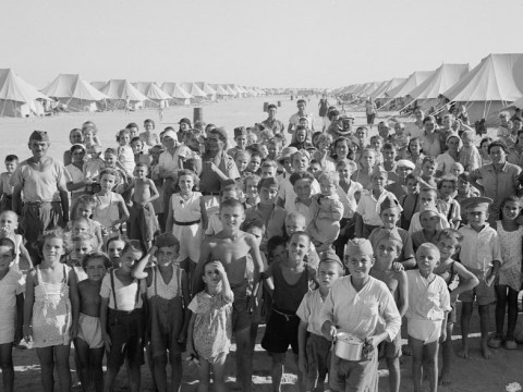 Inside the Egyptian refugee camp for Europeans in need during World War II