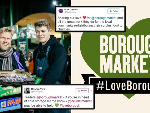 How Borough Market traders are helping each other after the attack