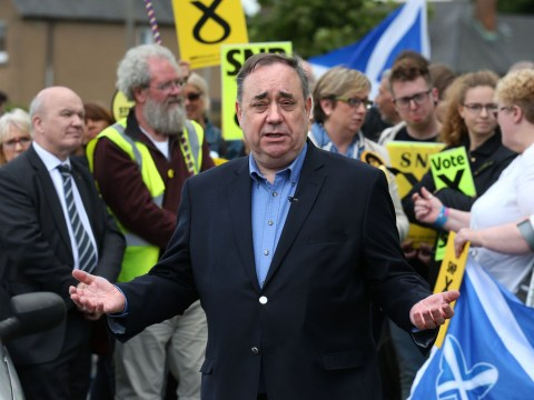 Former first minister Alex Salmond loses his seat to the Tories