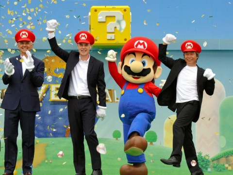 There's going to be a Super Nintendo World theme park and it looks brilliant