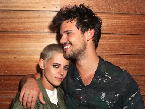 Kristen Stewart and Taylor Lautner had a Twilight reunion and we're back on Team Jacob