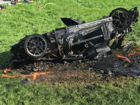 Richard Hammond jumped from £2 million supercar at 120mph to escape death during Grand Tour crash