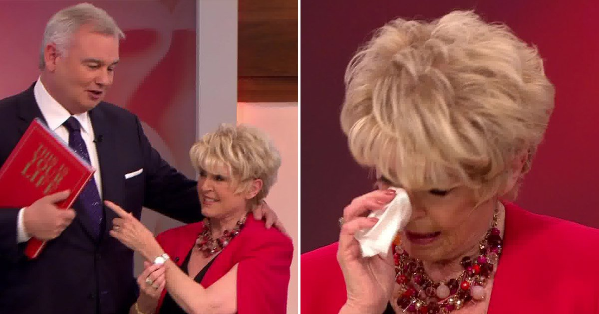 Gloria Hunniford breaks down as Eamonn Holmes surprises her with This Is Your Life skit on Loose Women