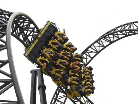 Alton Towers Smiler rollercoaster evacuated after rider triggers alarm