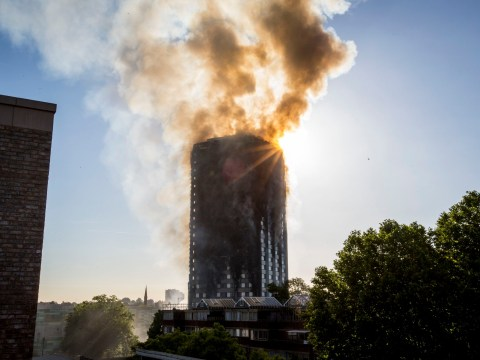 When was Grenfell Tower built, what is the address and how many floors are there?