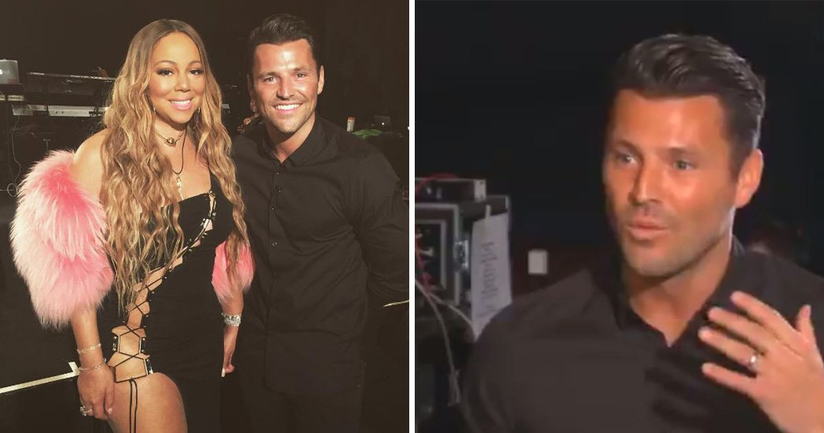 Mark Wright tries to persuade Mariah Carey to return to American Idol – but she's 'unavailable'