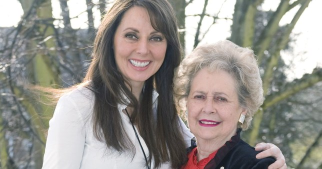 Carol Vorderman pays tribute to 'amazing Mum' after laying