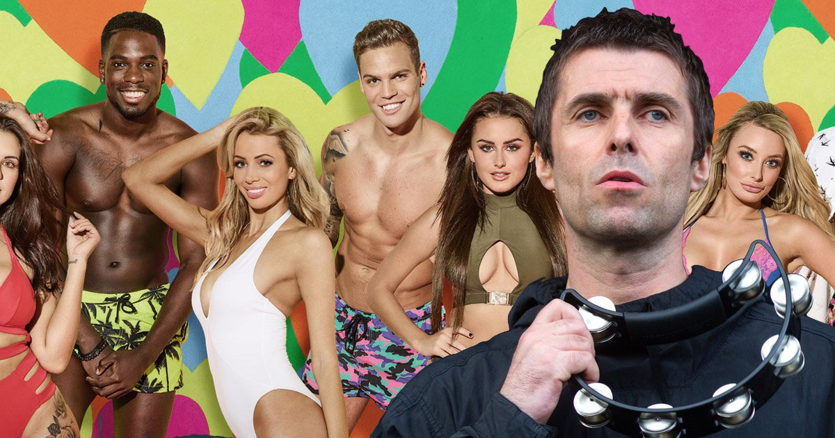Liam Gallagher just admitted he's a massive fan of Love Island
