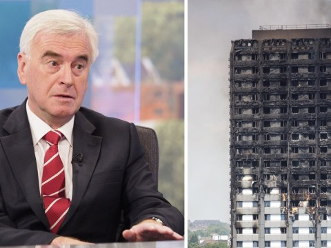 John McDonnell says Grenfell Tower victims 'were murdered'