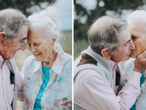 This couple has been married for almost 70 years and they're as loved up as ever