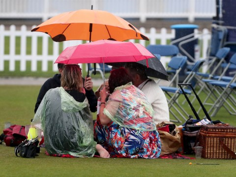 Washout weather set to stay with heavy rain and temperatures as low as 12C