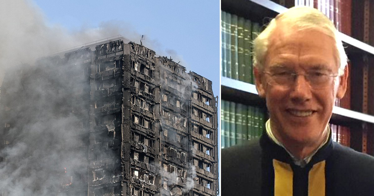 Sir Martin Moore-Bick appointed to lead public inquiry into Grenfell Tower disaster