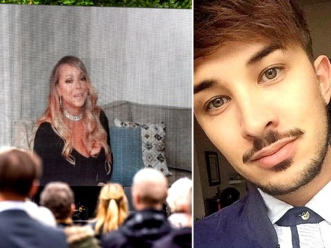 Mariah Carey sends video message to mourners at the funeral of Manchester bombing victim Martyn Hett