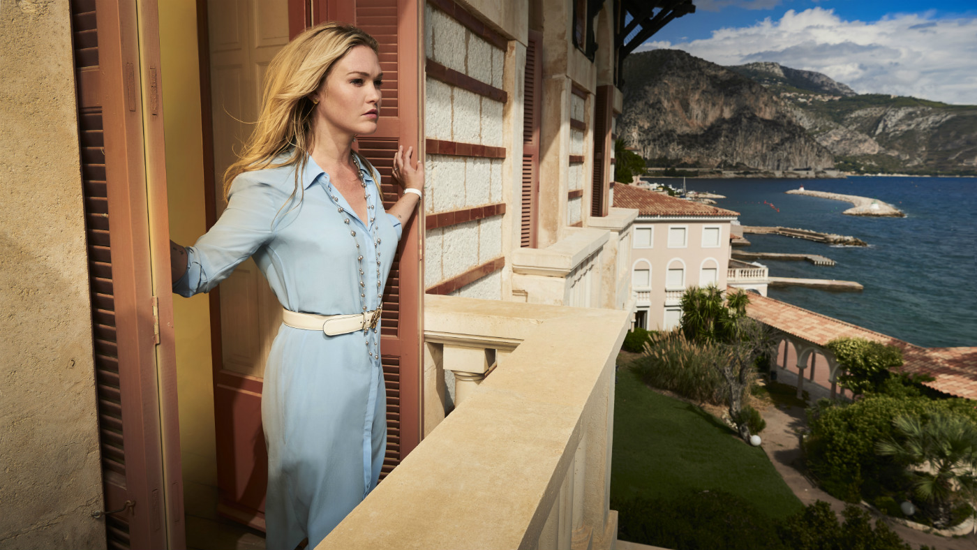 Riviera episode one review: Julia Stiles excels in stiff but promising thriller