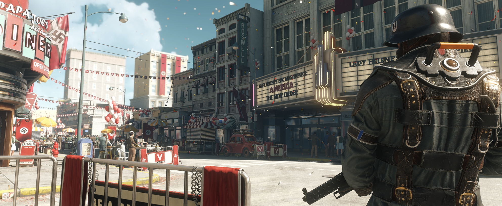 Wolfenstein II: The New Colossus - an alternative view of America