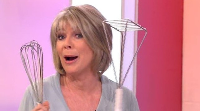 Ruth Langsford Whips Out Her Kitchen Sex Toys On Loose