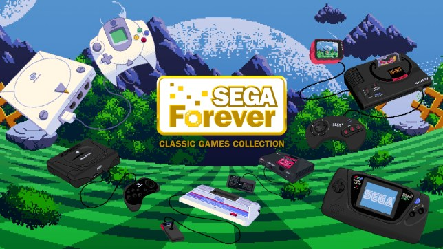 Sega Forever - if nothing else this bit of artwork, and the trailer, is godly