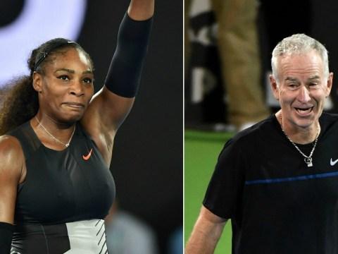 Serena Williams hits back at John McEnroe after men's ranking comments